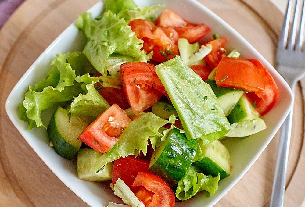 Рецепт летних салатов с картинками