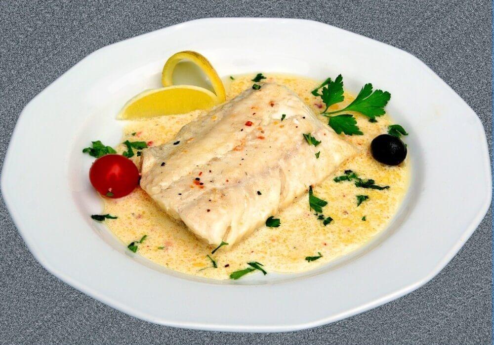Припущенная рыба рецепт с фото